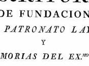 "Análisis documento histórico: ""Escritura fundación Patronato Laycal memorias Exmo. Manuel Ventura Figueroa"""