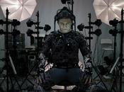 """""""star wars: despertar fuerza"""": imagen andy serkis bajo captura movimiento para interpretar lidel supremo snoke"""