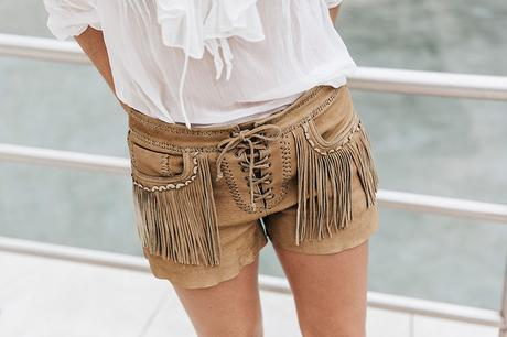 Polo_Ralph_Lauren-Bilbao-Collage_Vintage-Ruffled_Lace_Up_Blouse-Deerskin_Fringe_Short-Cardigan-Raffia_Wedges-Guggenheim-37