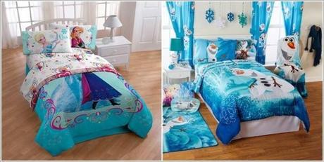 Dormitorios de ni as estilo frozen paperblog for Decoracion de cuartos para ninas frozen