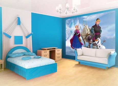 Dormitorios de ni as estilo frozen paperblog - Dormitorios infantiles ninos 7 anos ...