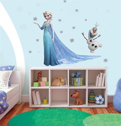 Dormitorios de ni as estilo frozen paperblog for Habitaciones para ninas frozen