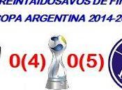 Colón:0(4) Acassuso:0(5) (Copa Argentina)