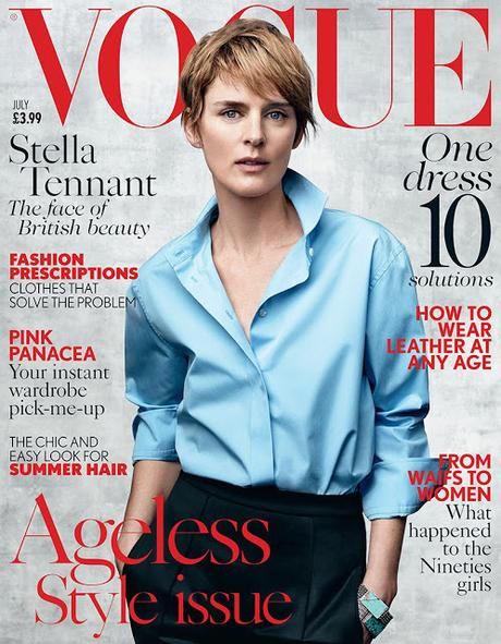 stella tennant vogue 2015