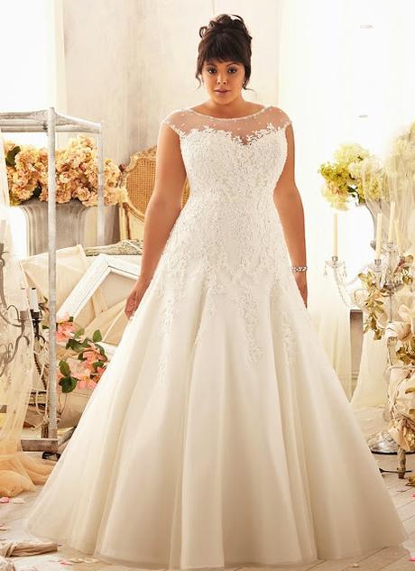 vestidos de novia para gorditas - paperblog