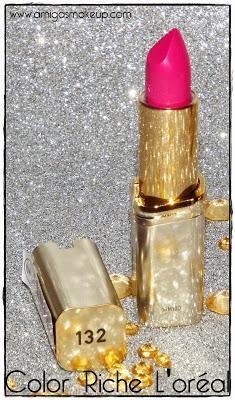 30º Aniversario Barra de labios Color Riche L'ORÉAL, hoy Nude/Rosa.