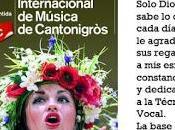 Carmen moreno, soprano dtra coros, jurado festival internacional cantonigros