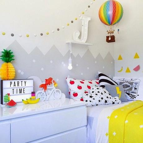 ideas para decorar paredes en infantiles
