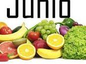 Fruta verdura temporada: Junio