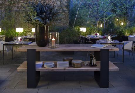 Un jard n secreto en el eixample el oasis verde del bar restaurante del hotel alma paperblog - Restaurante el jardin secreto ...