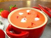 Gazpacho fresas tomate