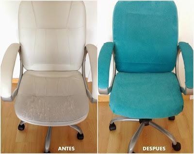 Diy: tapizar una silla de ordenador - Paperblog
