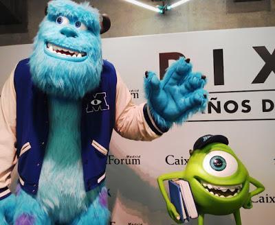 La animación de Pixar llega a Valencia