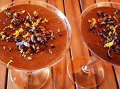 Mousse chocolate naranja