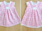 Diy: alargar vestido bebé