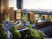 DVVD proponen edificio madera alto mundo París