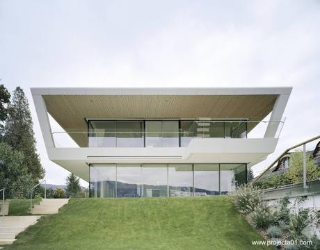 Ultramoderna casa de vacaciones en austria paperblog - Casa ultramoderna ...