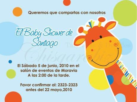 Tarjetas De Invitación Para Baby Shower Niño Paperblog