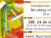 """Nuevo curso sobre """"introducción pedagogía montessori hogar años)"""""""