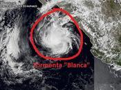 """huracán """"Blanca"""" debilita tormenta tropical camino Baja California Sur(México)"""