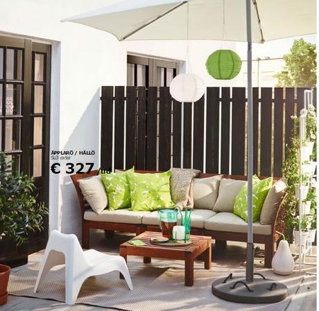 Decoraci n de balcones y terrazas peque as paperblog - Decoracion terrazas pequenas ...