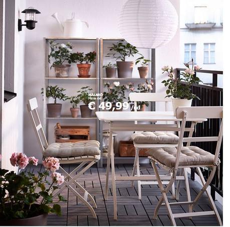 Decoraci n de balcones y terrazas peque as paperblog for Terrazas pequenas ikea