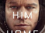 "Póster ""the martian"" matt damon"