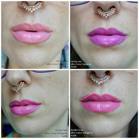 AVON Ultra Colour Indulgence lipstick: review y morritos
