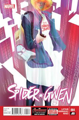 'Spider-Gwen' #4, la importancia de la tía May