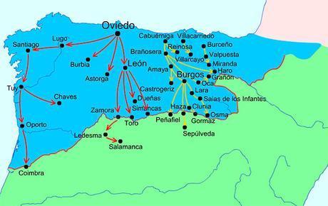 Cuenca Del Duero Mapa.Repoblacion De La Cuenca Del Duero Paperblog