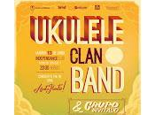 Ukulele clan band despide tour Independance