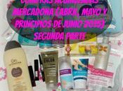 Compras Acumuladas Mercadona (Abril, Mayo principios Junio 2015) Segunda Parte.