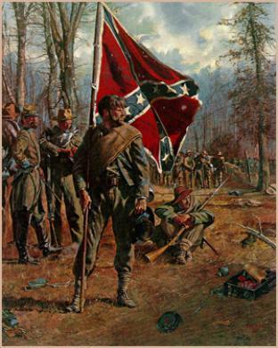 Españoles e irlandeses en Gettysburg (1863)