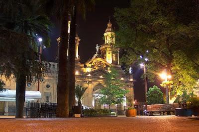 plaza armas catedral santiago