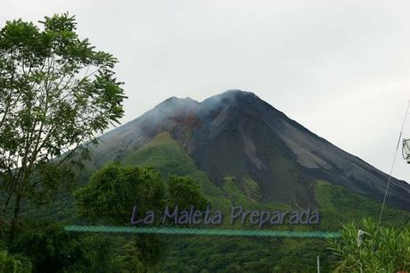 Vista del Volcán Arenal desde el hotel