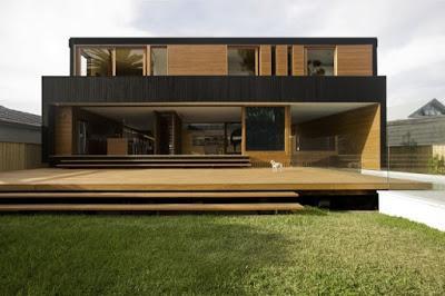 Casa Moderna De Madera Paperblog