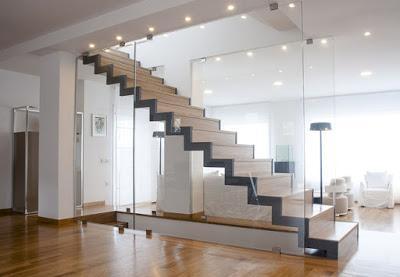 Mas escaleras modernas ii paperblog for Escalera en l