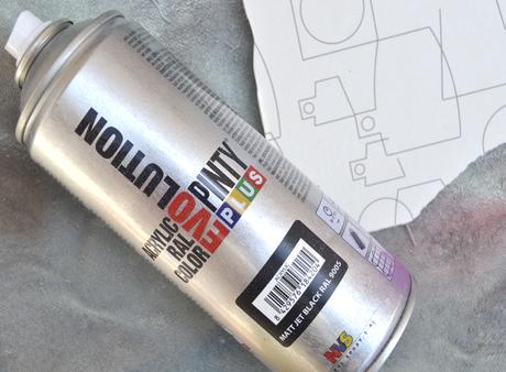 Llega la revolución: el chalk paint en spray