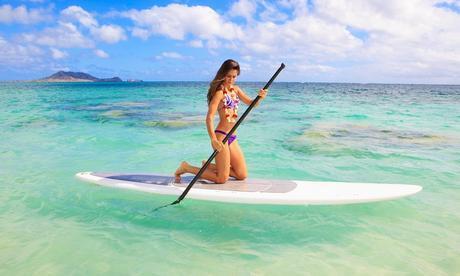 Al hacer deporte en el agua debemos extremar la protección solar