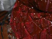 Velvet Bundt Cake cobertura chocolate canela