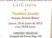 Presentación Café Hafa Valencia, junio