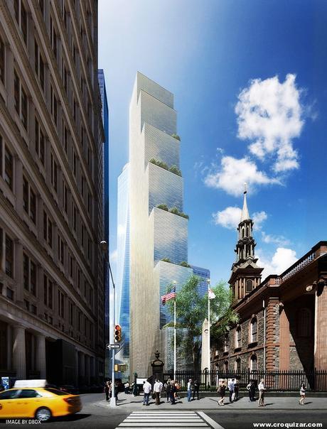 NOT-064-BIG presenta su proyecto para la Torre 2 del World Trade Center-5