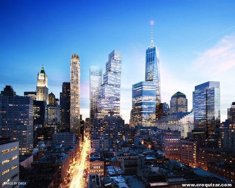 NOT-064-BIG presenta su proyecto para la Torre 2 del World Trade Center-7