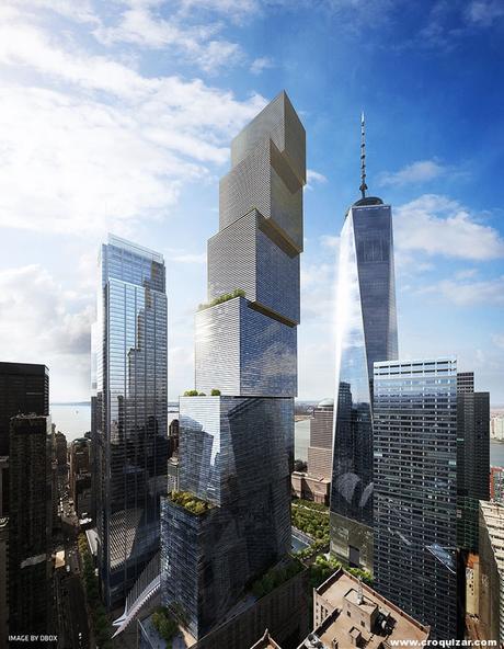 NOT-064-BIG presenta su proyecto para la Torre 2 del World Trade Center-4