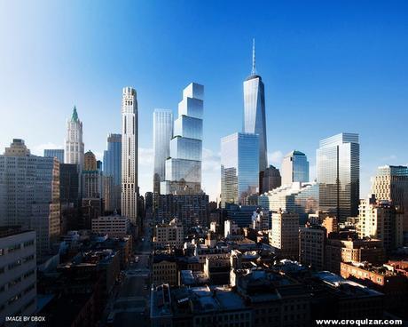 NOT-064-BIG presenta su proyecto para la Torre 2 del World Trade Center-7.5