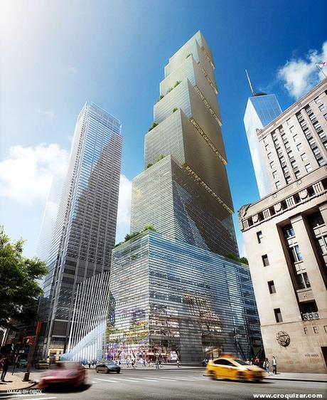 NOT-064-BIG presenta su proyecto para la Torre 2 del World Trade Center-6