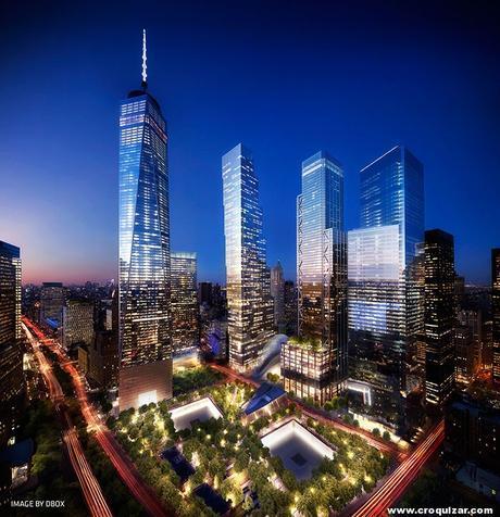 NOT-064-BIG presenta su proyecto para la Torre 2 del World Trade Center-1