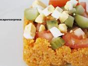 Cous cous gazpacho