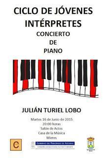 Junio siempre duro incluso para pianistas