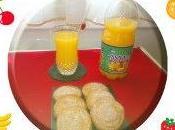 Galletas canela zumo tampico sabor island puch